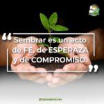 La semilla que se coloca en la tierra es sagrada, al hacerlo se asume un compromiso de vida.